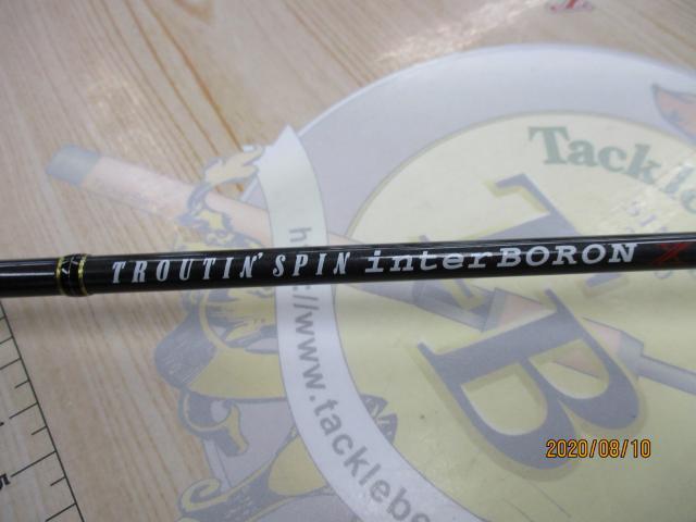 トラウティンスピンインターボロンX TRBX-60MT
