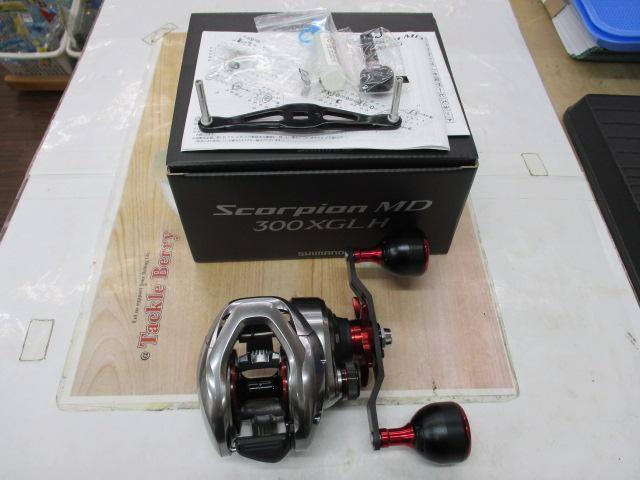21スコーピオンMD 300XG LH(ロングハンドル)